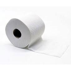Туалетная бумага в стандартных рулончиках, 1 слой, длина 44 м, белый (24 шт/упак), арт. 16346