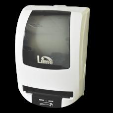Диспенсер для бумажных полотенец Matic в рулонах, автоматический, белый+прозрачный, арт. AT108