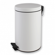 Контейнер Lime для мусора с педалью, 3 л, белый, арт. A64811