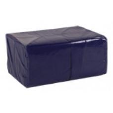 Салфетки сервировочные бумажные Lime 1 слой 24*24 см 400 шт., тёмно-синий, арт. 410500