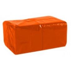 Салфетки сервировочные бумажные Lime 1 слой 33*33 см 400 шт., оранж, арт. 610250