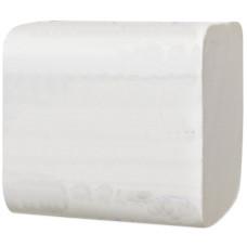Туалетная бумага Lime листовая в пачках V-укладка, 2 слоя, размер 10,3*21,5 см, 200 листов, белый (27 шт/упак), арт. 250840