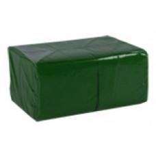 Салфетки сервировочные бумажные Lime 1 слой 24*24 см 400 шт., тёмно-зеленый, арт. 410600