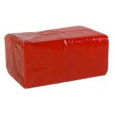 Салфетки сервировочные бумажные Lime 1 слой 24*24 см 400 шт., красный, арт. 410700