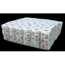 Туалетная бумага в стандартных рулонах LIME, 1 слой, 29 м, светло-серая (72 шт/упак), арт. 102924