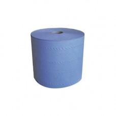 Бумага протирочная LIME 2 слоя, 350 м, ширина 20 см, синяя (2 шт/упак), арт. 20.350