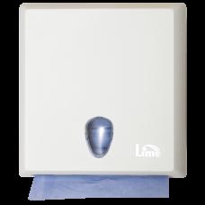 Диспенсер на 2,5 пачки бумажных полотенец Z-сложения, белый (покрытие Soft touch), арт. A70610EBS