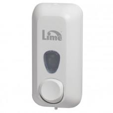 Диспенсеры для жидкого мыла Lime объем 0,55 л, белый (покрытие Soft touch), арт. A71401BIS