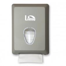 Диспенсер для туалетной бумаги листовой V-укладки, металлик, арт. A62201SATS