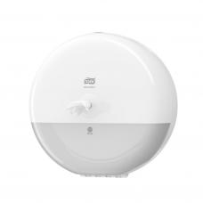 Диспенсер для туалетной бумаги в рулонах Tork SmartOne®, белый, Т8, арт. 472022/680000