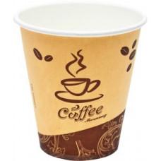 Стакан для горячих напитков 250 мл бумажный (50 шт/уп)