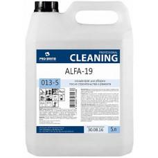 Alfa-19, 5 л *Концентрат для уборки после строительства и ремонта 013-5
