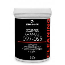 Scupper Granule, Гранулированный концентрат для устранения пробочных засоров в трубах, арт. 097-025