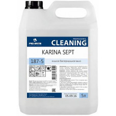 Karina Sept, Жидкое бактерицидное мыло, 5 л., арт. 187-5