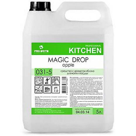 Magic Drop. Apple,5л. моющее средство, шт, 031-5, Pro-Brite