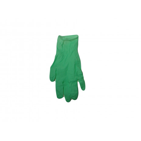 Перчатки нитриловые NitriMAX, 3,8 гр, S, зеленые,  (100 шт/упак), арт. NM-S-Green-PS,