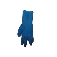 Перчатки латексные ОСОБОПРОЧНЫЕ UniMAX High Risk Plus , 300 мм, L, сине-голубые,  (50 шт/упак), арт. UM-L-PS