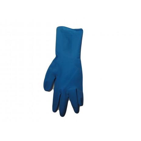 Перчатки латексные ОСОБОПРОЧНЫЕ UniMAX High Risk Plus , 300 мм, M, сине-голубые,  (50 шт/упак), арт. UM-M-PS, Archdale