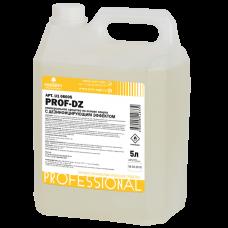 PROF-DZ Универсальное средство для поверхностей на основе спирта с дезинфицирующим эффектом, 5л (HDPE канистра)