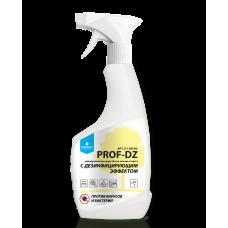 PROF-DZ Универсальное средство для поверхностей на основе спирта с дезинфицирующим эффектом, 0,5 л (HDPE бутылка +триггер)