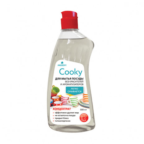 Гель для мытья посуды вручную Cooky 0,5 л., арт. 132-05, Prosept