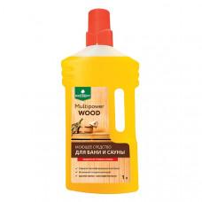Средство моющее для бани и сауны Multipower Wood 1,0 л, арт. 267-01