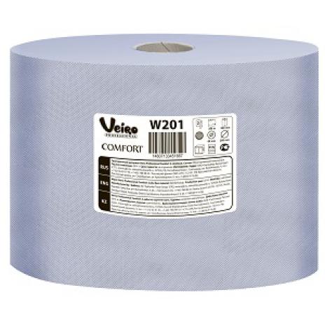 Протирочный материал Veiro Professional Comfort, 1000 листов 24 х 35 см, 2 слоя, 350 м, арт. W201, Veiro Professional