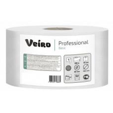 Бумага туалетная в средних рулонах MIDI2, 1 слой, 150 м, белый, рул (12 шт/упак), арт. MIDI2