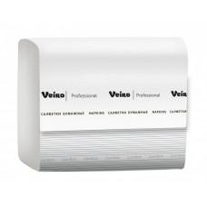 Салфетки бумажные Viero Professional Comfort, V-сложение, 2 слоя, 16*21 см, 220 л, белый,  (15 шт/упак), арт. 211 NV