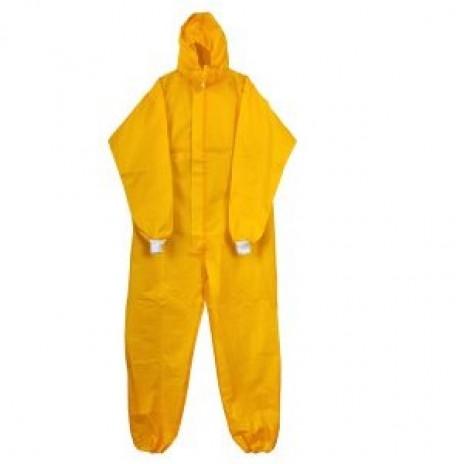 Комбинезон микропора 63 г/кв.м, закрытая молния, желтый ,