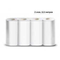 Полотенца для рук в рулонах Veiro Professional Comfort, 2 слоя, 220*250 мм, 12,5 м, 50 л, белый,  4рул/упак, (аналог Делюкс) (4 шт/упак), арт. 207 К