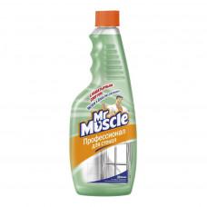 Mr Muscle чистящее средство для стекол и других поверхностей с нашатырным спиртом 500МЛ, сменный блок, арт. 3010973