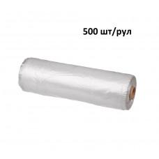 Пакет фасовочный в рулоне ПНД 25 х 40 см, 500 шт/рул, 10 мкм, рулон