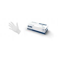 Перчатки нитриловые NitriMAX, 3,8 гр, L, белые, 100 шт