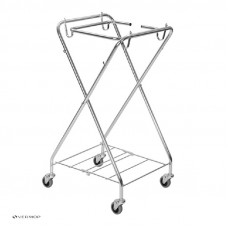 Х-образная база тележки для мешка 120 л, 56 х 56 х 104 см, арт. 051022
