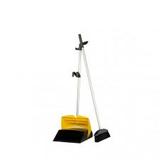 Комплект для уборки полов (метла и совок), 100 см, арт. 896