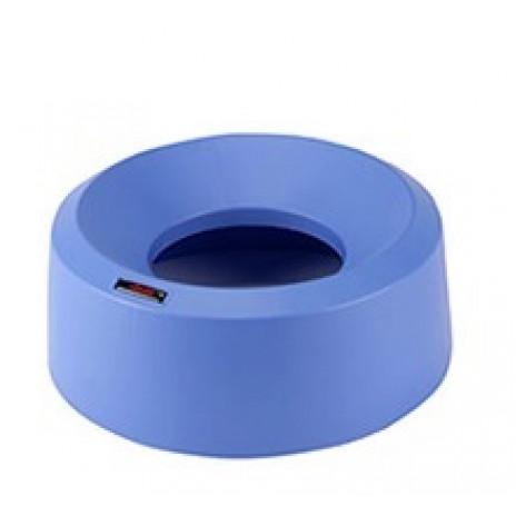 Крышка круглая воронкообразная для контейнера Vileda Ирис, синяя арт. 137737, Vileda Professional