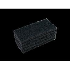 Пад ручной Vileda Суперпад, (5шт/уп), черный, 26x12 см, арт. 114909