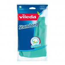 Перчатки Vileda Стандарт L, 1 пара. арт.146267