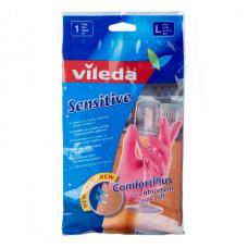 Перчатки Vileda для деликатных работ L, 1 пара, арт. 105394