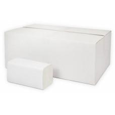 Бумажные полотенца листовые Комфорт Эко Тренд 2-слоя, 200 листов, белая целлюлоза, тиснение (V / ZZ-сложение) (20 шт/упак), арт. Т-0231