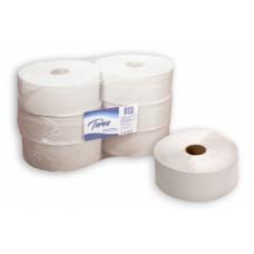 Туалетная бумага в рулонах Терес Эконом Плюс 1-слой, maxi, 480 м, отбеленая макулатура (6 шт/упак), арт. Т-0014