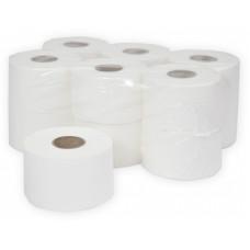 Туалетная бумага в рулонах Терес Эконом 1-слой, mini, 200 м, макулатура (12 шт/упак), арт. Т-0025