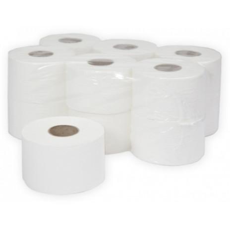 Туалетная бумага в рулонах Терес Эконом 1-слой, mini, 200 м, макулатура (12 шт/упак), арт. Т-0025, Терес