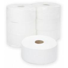 Туалетная бумага в рулонах Терес Комфорт 2-слоя, midi L, 250 м, белая целлюлоза, тиснение (6 шт/упак), арт. Т-0082