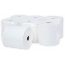 Бумажные полотенца в рулонах Терес Элит 2-слоя, midi, 120 м, белая целлюлоза, тиснение (6 шт/упак), арт. Т-0140