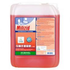 MILIZID Кислотное средство для очистки санитарных зон, 10 л, арт. 143388