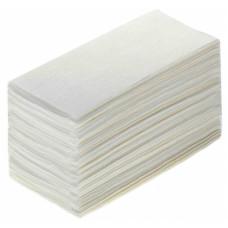 Бумажные полотенца листовые Терес Стандарт 1-слой, 250 листов, белая целлюлоза, тиснение (V / ZZ-сложение) (20 шт/упак), арт. Т-0222