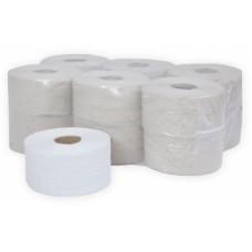 Туалетная бумага в рулонах Терес Эконом 1-слой, midi, 300 м, макулатура (12 шт/упак), арт. Т-0035