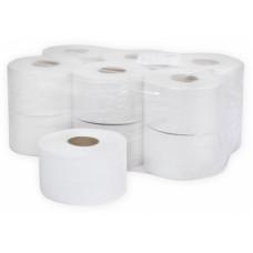 Туалетная бумага в рулонах Терес Эконом Плюс 1-слой, midi, 300 м, отбеленая макулатура (12 шт/упак), арт. Т-0034